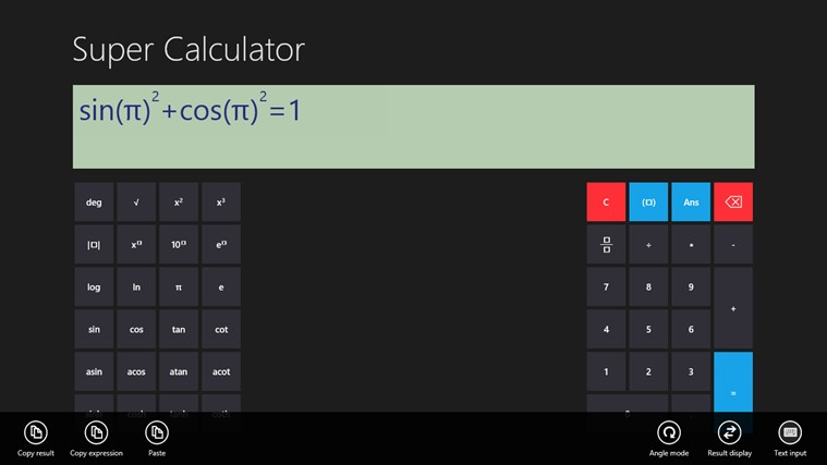 Super Calculator screen shot 3