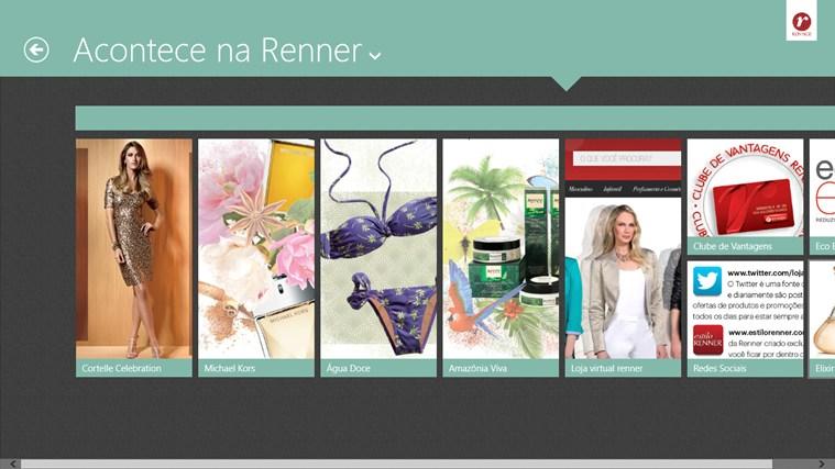 Lojas Renner captura de tela 1