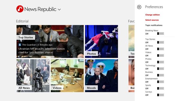 News Republic screen shot 1