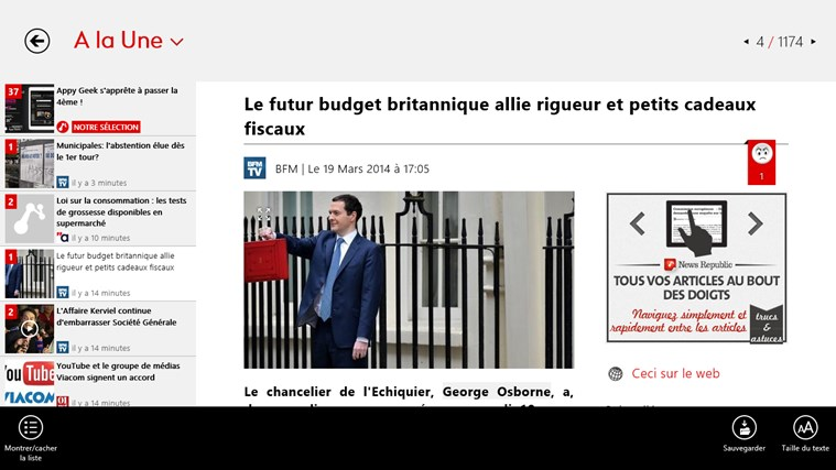 News Republic capture d'écran 3
