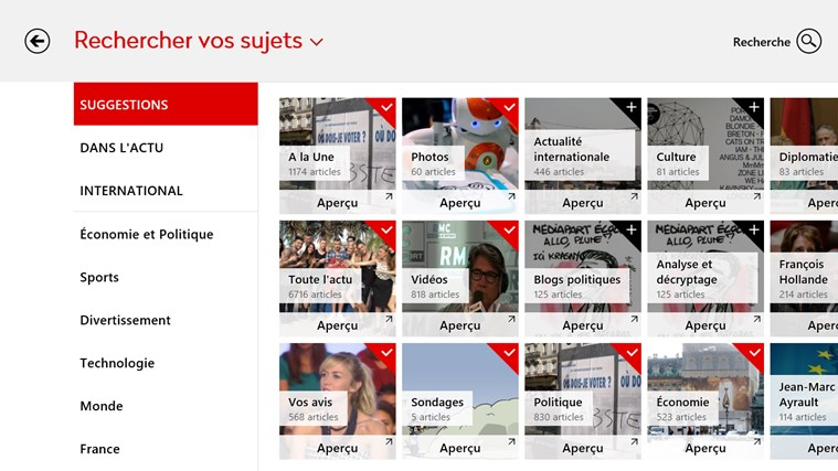 News Republic capture d'écran 5