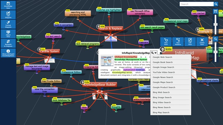 KnowledgeBase Builder screen shot 5
