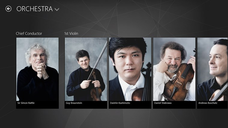 Digital Concert Hall screen shot 3