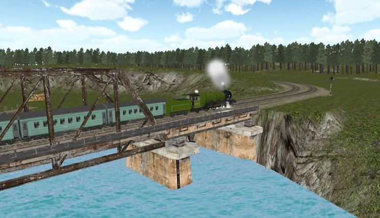 Train Sim screen shot 5