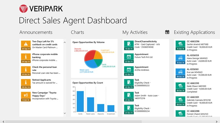 Direct Sales Agent screen shot 1