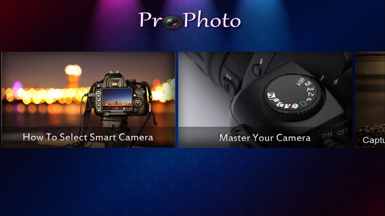 ProPhoto screen shot 1