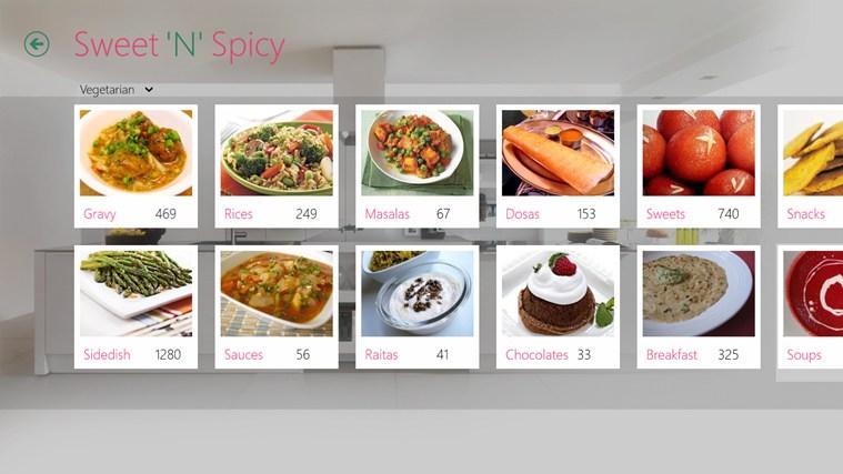 Sweet'N'Spicy schermafbeelding 5