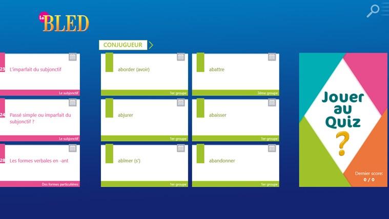 Le BLED Orthographe, Grammaire, Conjugaison capture d'écran 1