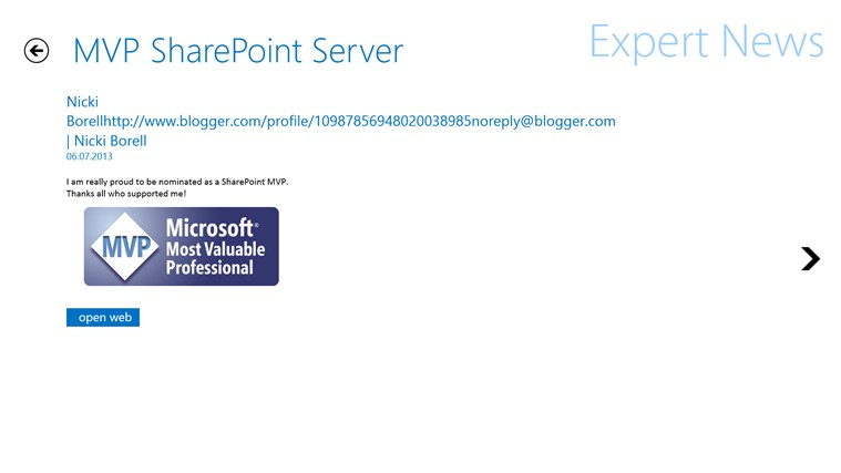 Expert News for SharePoint Screenshot 1