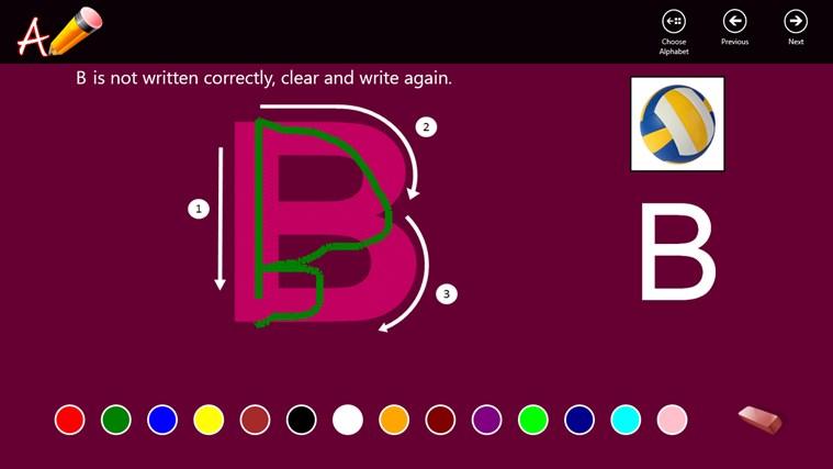 Toddler Writing - Free screen shot 3