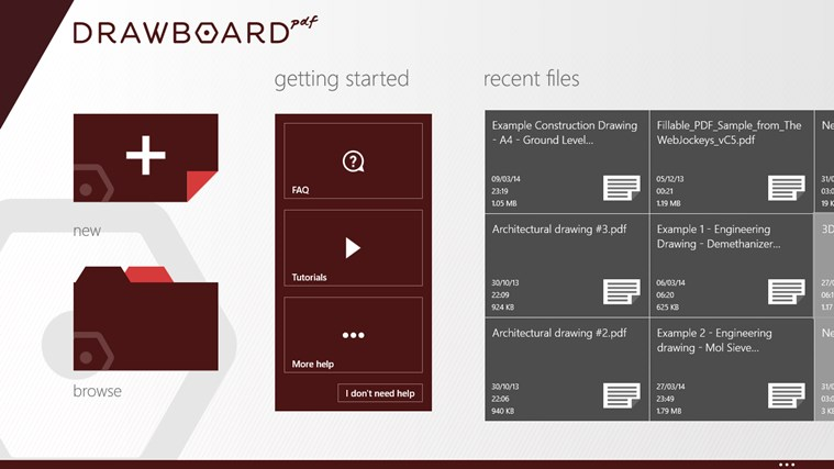 Drawboard PDF screen shot 5