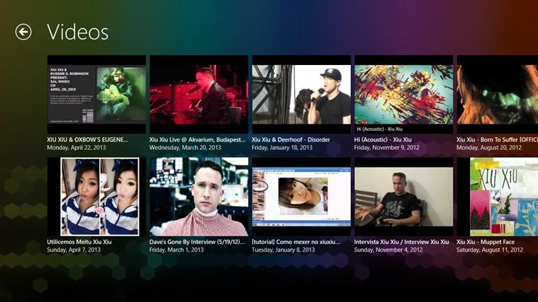 Xiu Xiu FANfinity posnetek zaslona 1
