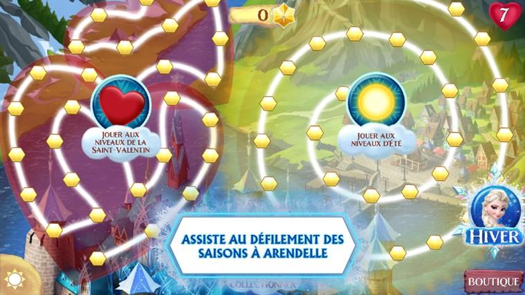La Reine des Neiges Free Fall capture d'écran 3