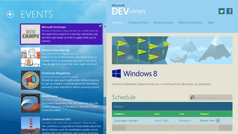 Windows Store Infokit screen shot 1
