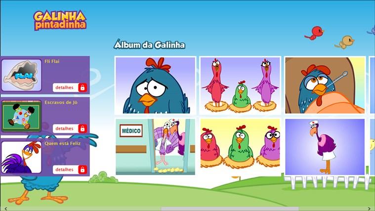 Turma da Galinha Pintadinha screen shot 3