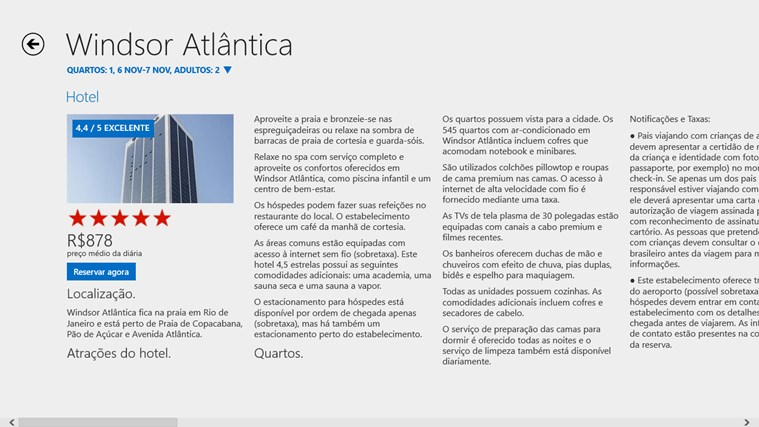 Hotels.com captura de tela 1
