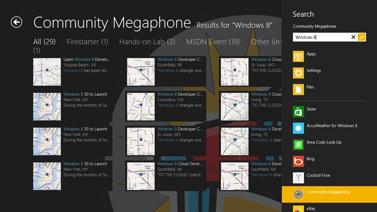 Community Megaphone screen shot 3