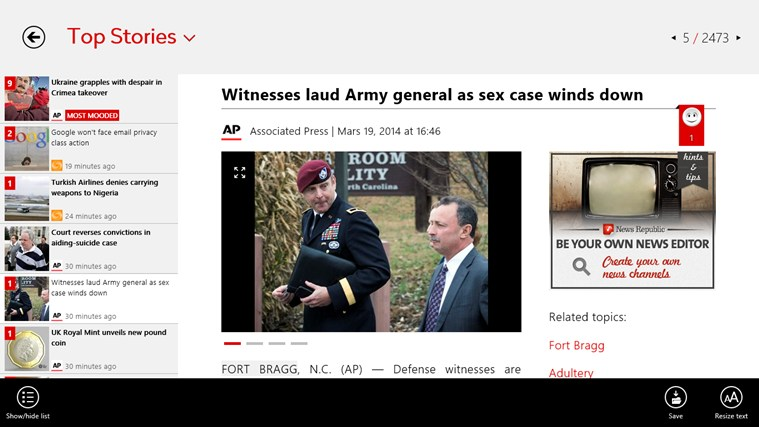 News Republic screen shot 3