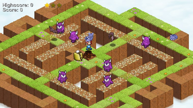 Skyling: Garden Defense screen shot 3