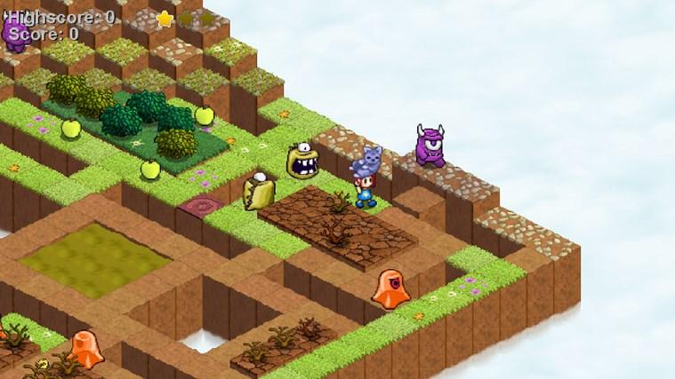Skyling: Garden Defense screen shot 5