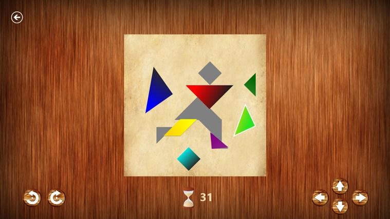 Tangrams captura de pantalla 1