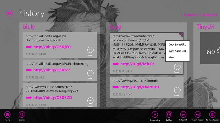 ShortUrls Screenshot 3