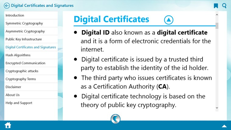 Cryptography by WAGmob petikan skrin 3