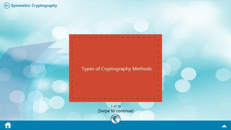 Cryptography by WAGmob petikan skrin 7