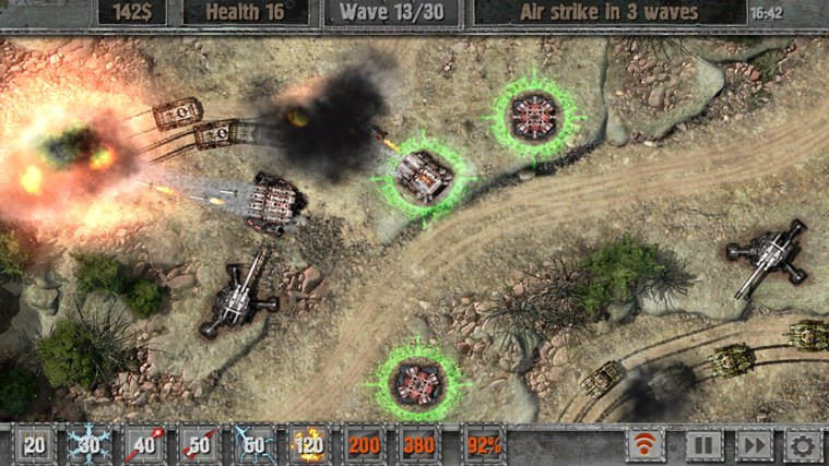 Defense zone 2 screen shot 3