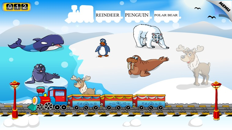 Animal Train - First Word screen shot 5