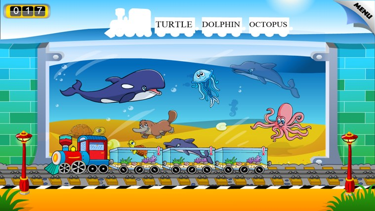 Animal Train - First Word screen shot 7