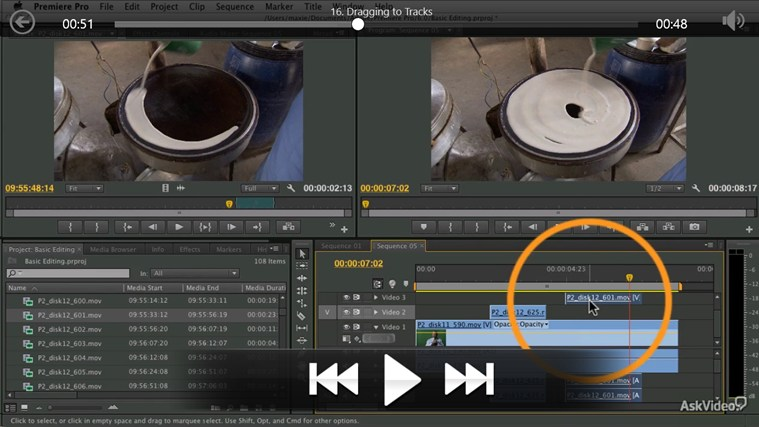Premiere Pro CS6 - Basic Editing ภาพหน้าจอ 3