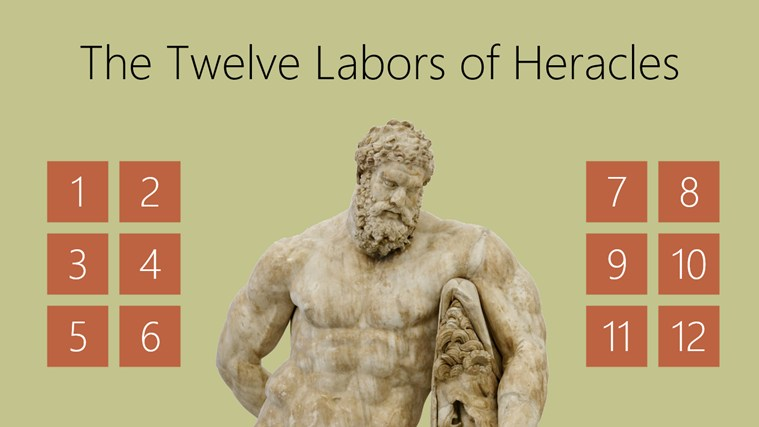 The Twelve Labors of Heracles screen shot 1