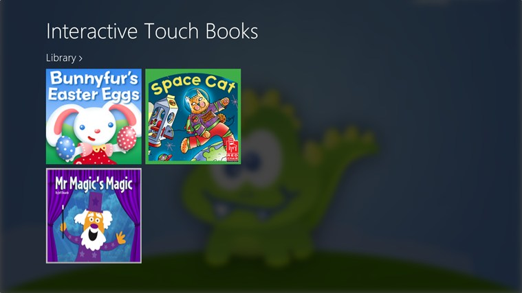 Interactive Touch Books - For Kids! screen shot 1