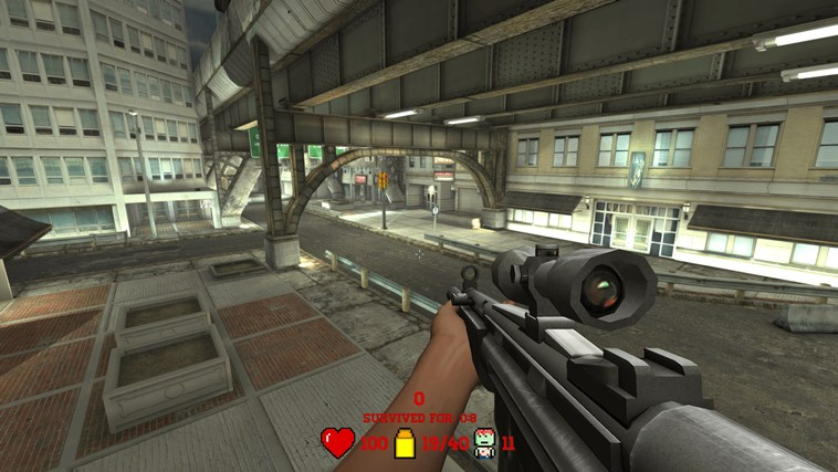 Awesome Zombie Sniper screen shot 3