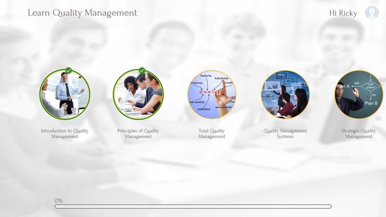 Quality Management by WAGmob captura de pantalla 1