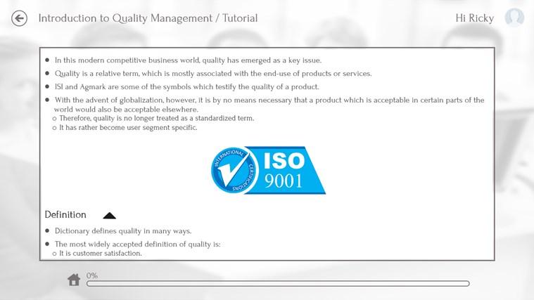 Quality Management by WAGmob captura de pantalla 3