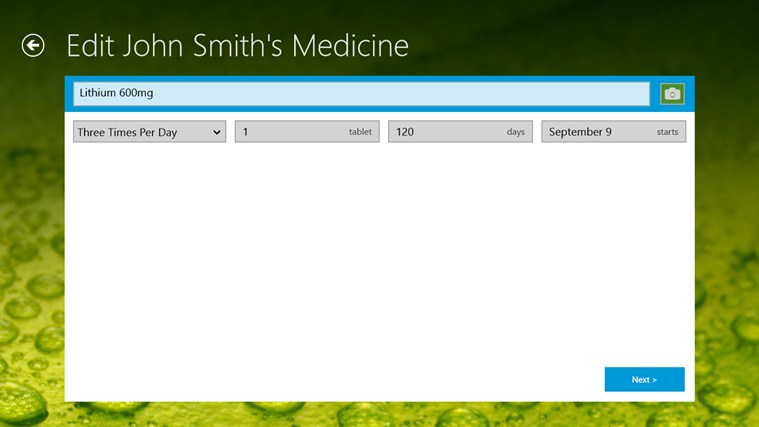 MedicineCabinet screen shot 5