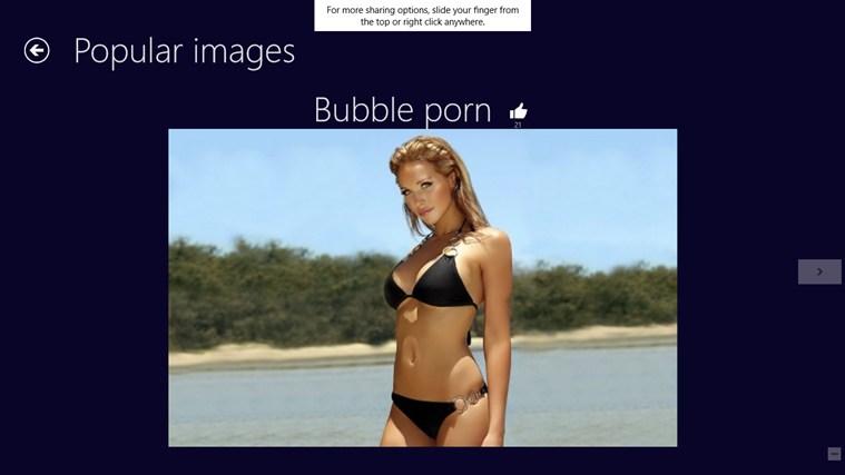 Bubble Porn: Optical Illusion screen shot 3