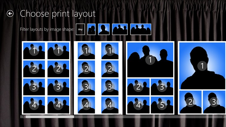 InstantPhotoBooth screen shot 1