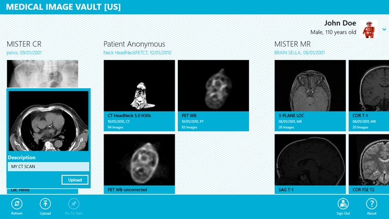 Medical Image Vault screen shot 3