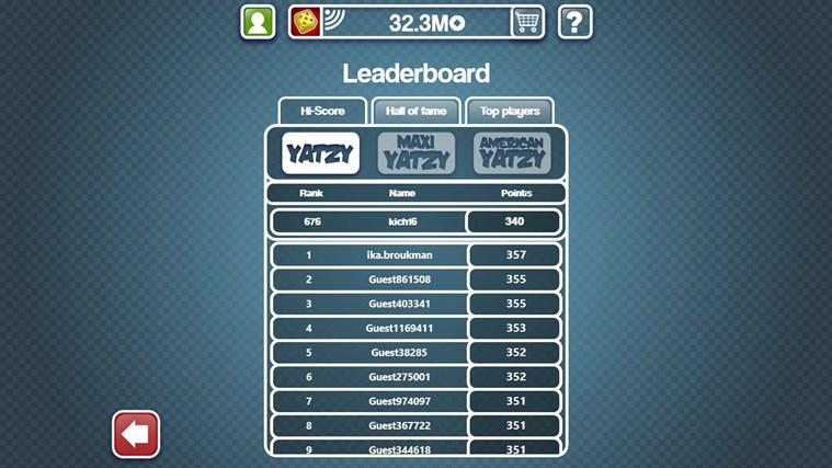 Yatzy Ultimate Free screen shot 3