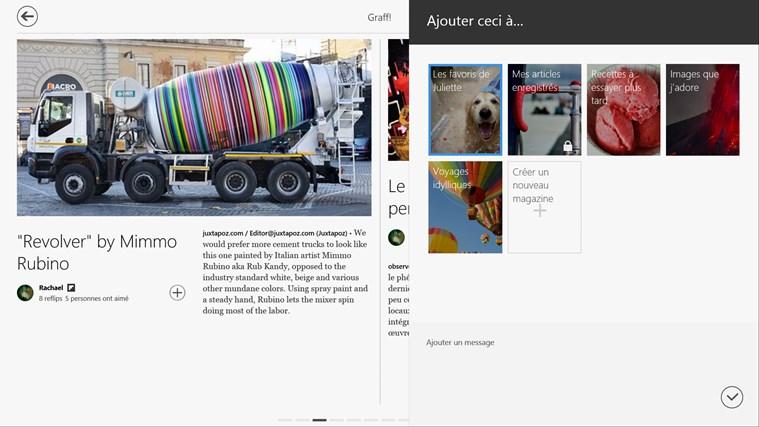 Flipboard capture d'écran 5