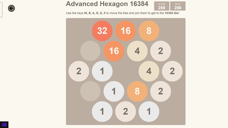 2048. screen shot 3