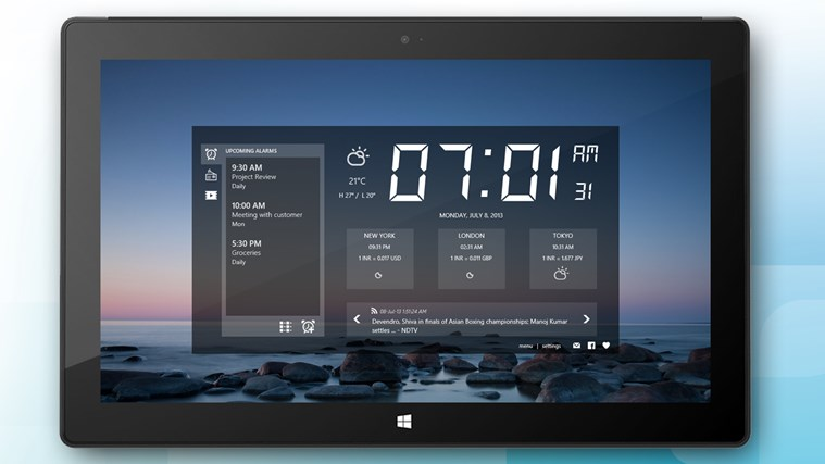 Alarm Clock HD screen shot 1