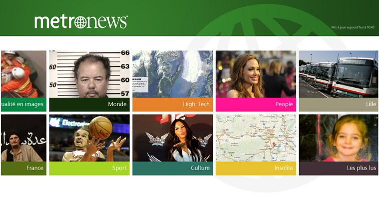 metronews : l'actualité en direct capture d'écran 1