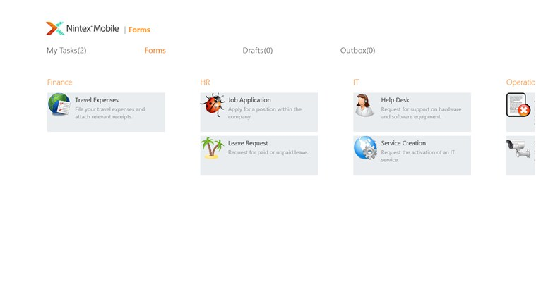 Nintex Mobile screen shot 3