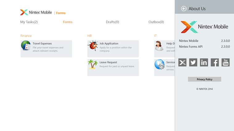 Nintex Mobile screen shot 7