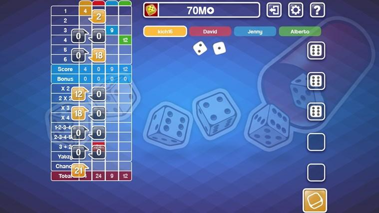 Yatzy Ultimate Free screen shot 1