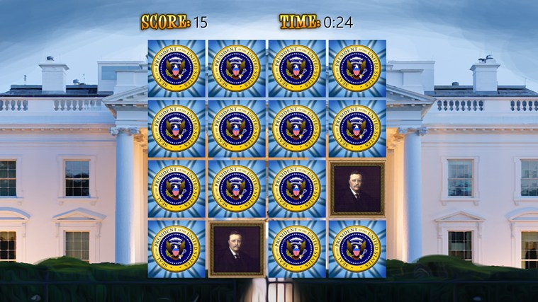 US Presidents (Match'Em Up™ History and Geography) screen shot 1